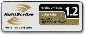 - zvětšené logo specifikace disku Verbatim DVD+R 16x -